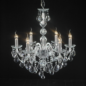 Modern crystal chandelier Model-47-5 3D Model