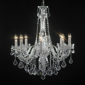 Modern crystal chandelier Model-50-5 3D Model