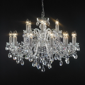 Modern crystal chandelier Model-6 3D Model