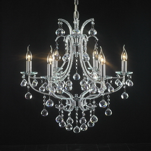 Modern crystal chandelier Model-9 3D Model