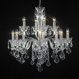 Modern crystal chandelier Model48-5 3D Model