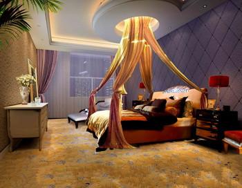 Modern dark and comfortable bedroom 3D Model