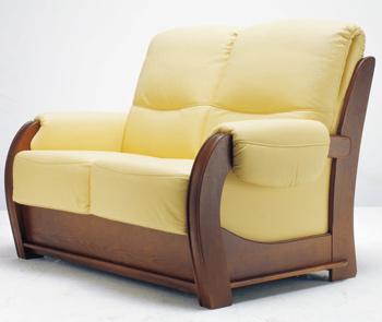 Modern double seats sofa 3D Model