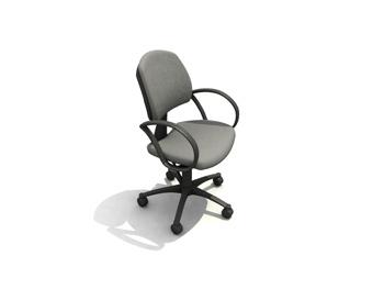 Modern easy chair 3D Model
