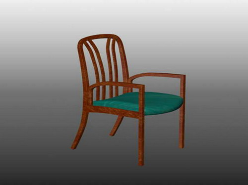 Modern furniture 001-chairs 76 3D Model