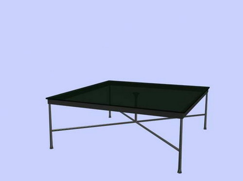 Modern furniture 003-tea tables and counters –33 3D Model