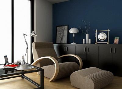 Modern Home Decor C�� Lounge Area 3D Model