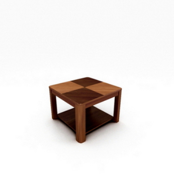 Modern office coffee table 3D Model