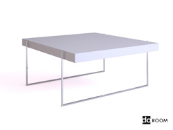 Modern simple multi-function desk 3D Model