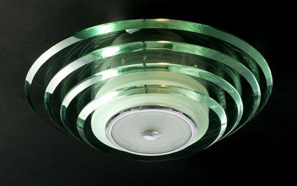 Modern Simplism Round Ceiling Lamp 3D Model