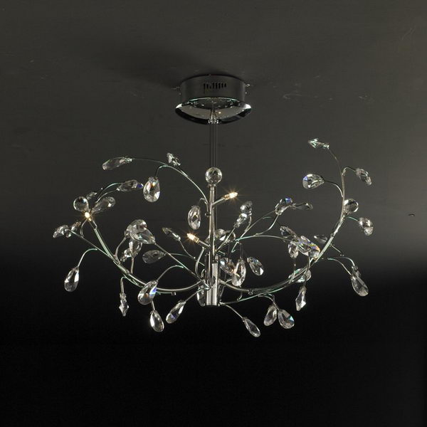 Modern Style LED Chandelier 3D Model