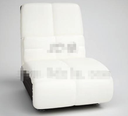 Modern style simple white sofa 3D Model