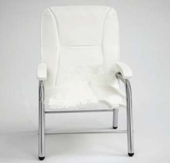 Modern white single sofa chair 3D Model