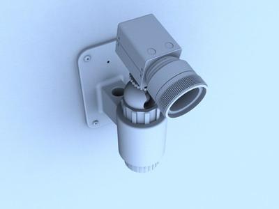 Monitors 3D Model