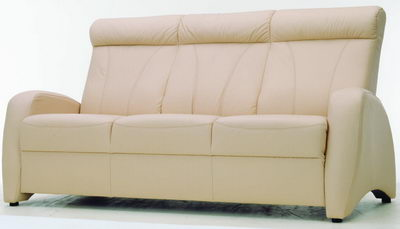 More than casual beige sofa 3d model