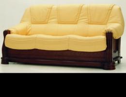 More than gold retro sofa 3D model