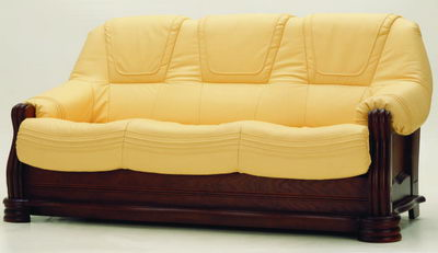 More than gold retro sofa 3D model