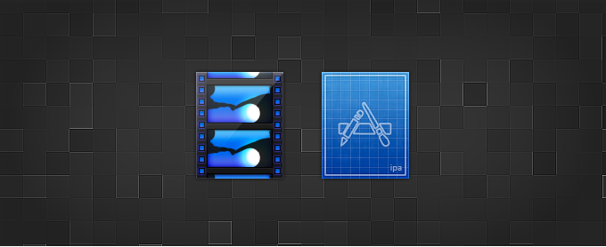 .MOV and .IPA Replacement Icons PSD