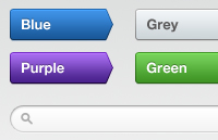 Multi-coloured Buttons PSD