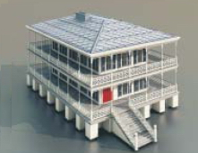 Multi-Housing / Architectural Model -30 3D Model