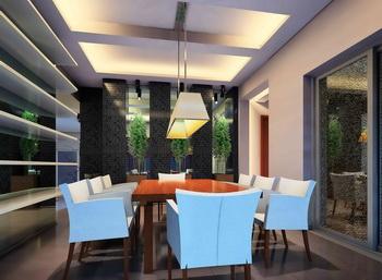 Natural and fresh sense dining room 3D Model