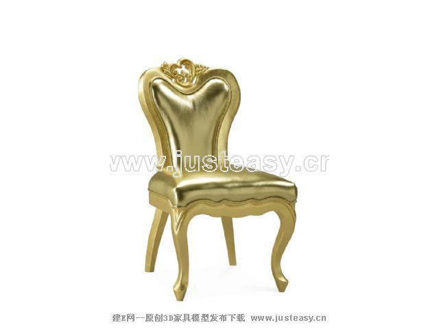 Neo-classical chair 3D Model