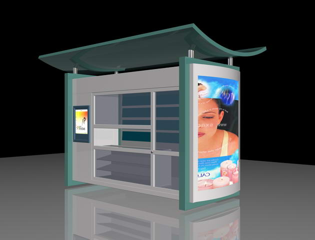 Newsstands 3D Model