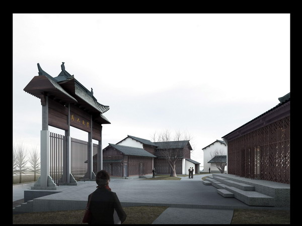 Of Chinese buildings 3D Model