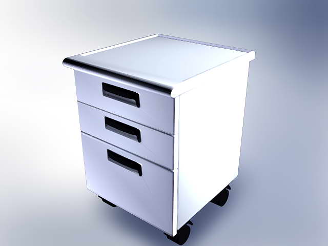 Office furniture 010-50 3D Model