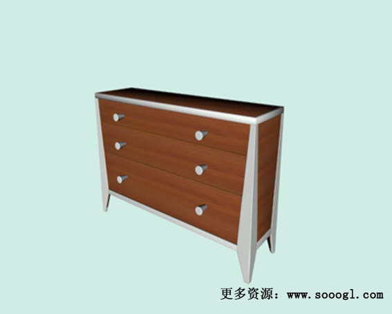 Office  furniture  012-110 3D Model