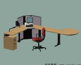 Office furniture 013-130 3D Model