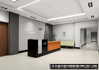 Office reception space model 3D Model