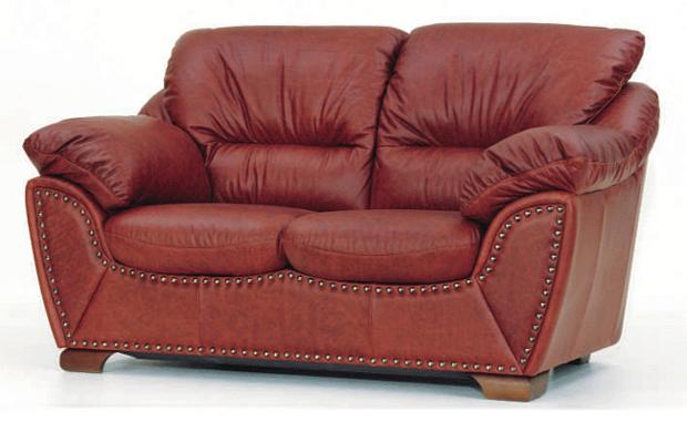 Ou wine double soft sofa 3D models