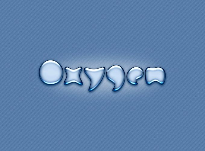 Oxygen Logo PSD