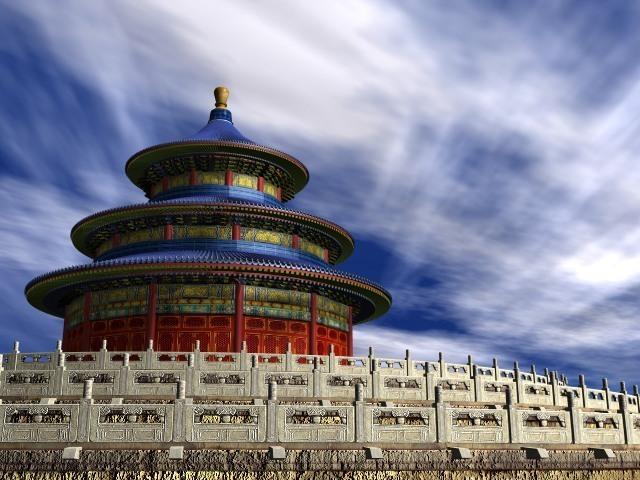 Palace Temple Heaven 3D Model