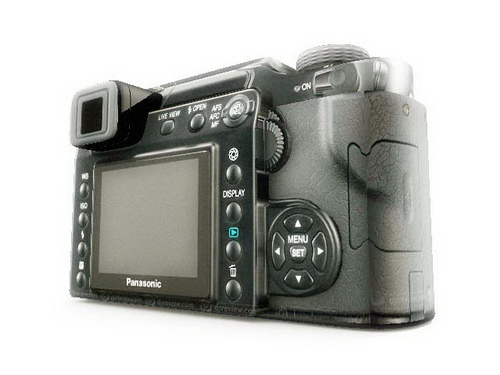 Panasonic Single Lens Reflex Camera Model 3D Model