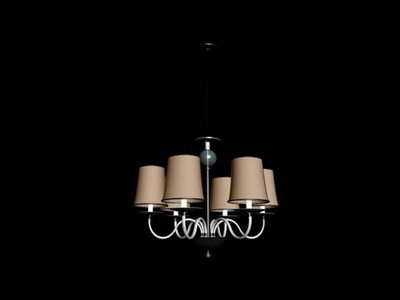Pendant Lamp Model�� Retro Pendant Lamp 3Ds Max Model