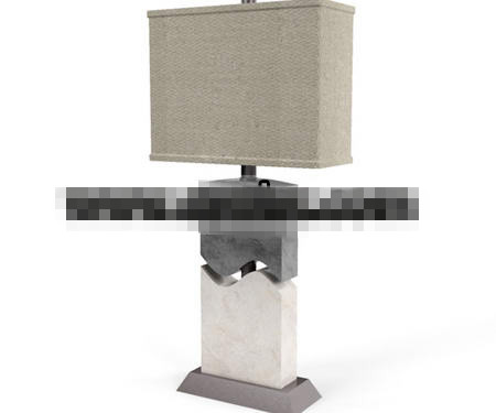 Personality linen light caps lamp 3D Model