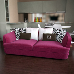 Pink warmth sofa 3D models