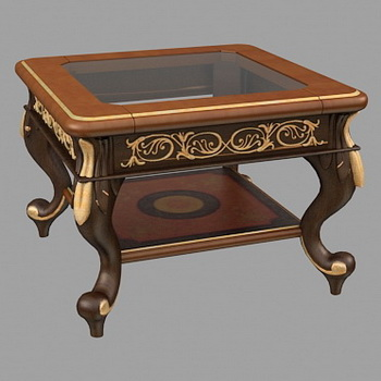 Practical tea table 3D Model