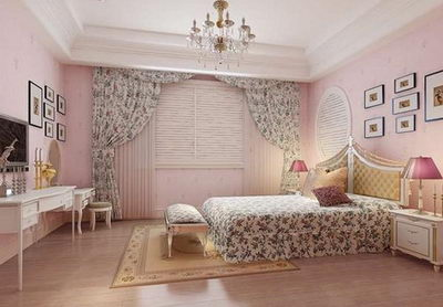 Pretty generous bedroom model 3D Model