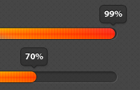 Progress Bars PSD