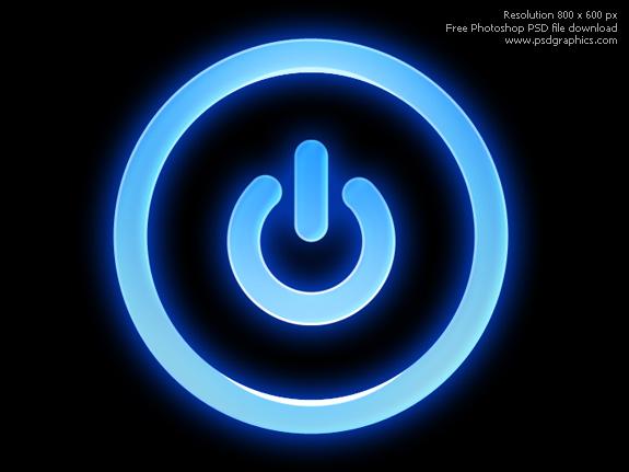 PSD power button