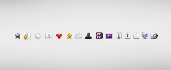 Quo Icons PSD