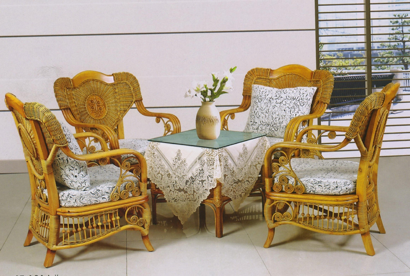 Rattan combination of 3D models (including materials)