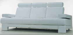 Recreational area people cloth art sofa 3D models