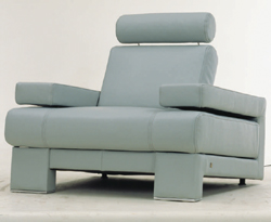 Recreational area single cloth art sofa 3D models
