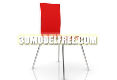 Red chair 3D models