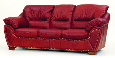 Red colth sofa 3D Model