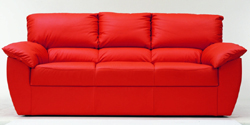 Red people soft sofa 3D models (including material)